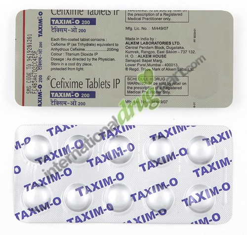 Cefixime Free Trial