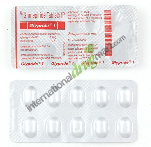 Glimepiride 1mg, 2mg, 4mg Dosages to Lower Blood Sugar