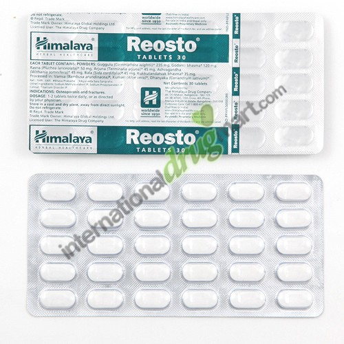 Himalaya Reosto Ingredients