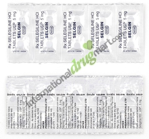 Selegiline 5mg @ $0 91 per Tablet – Order & Save at Our Pharmacy