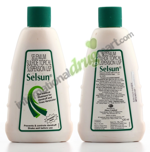 Order Selsun Suspension For Dandruff Treatment Over The