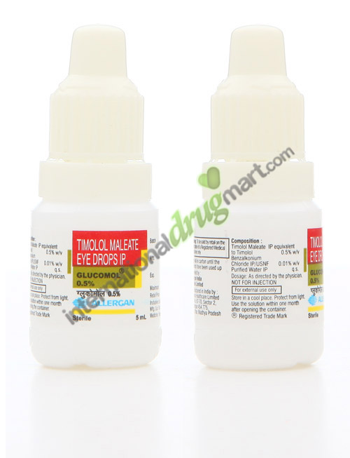 Generic Timolol Drops and Gel – Order for Treating
