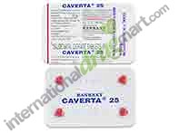 Caverta 25mg, 4s Pack