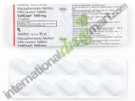 Mycophenolate Mofetil 250mg