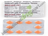 Sildenafil Citrate–Fluoxetine 100mg-40mg