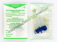 Scalp Vein Set (Butterfly Winged Infusion Set) (10 Pieces)