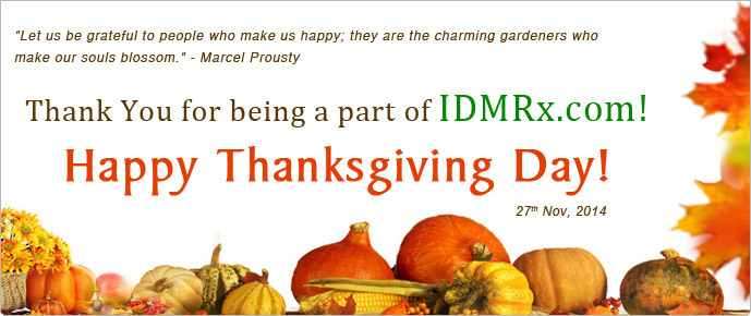 IDMRx's Thanksgiving Offer