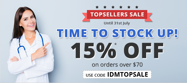 Get Flat 15% Discount on Top Sellers for orders value $70 or more