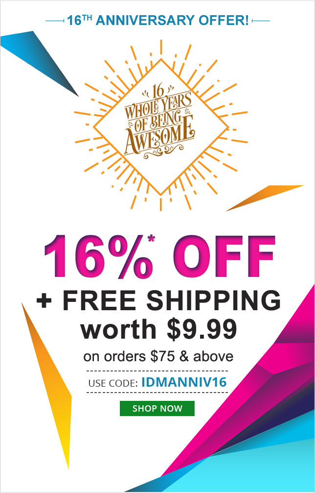 Apply Coupon IDMANNIV16 and get 16% off on All medications