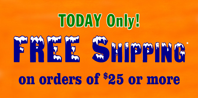 Free Shipping only Today. Hurry