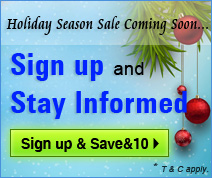Holiday Season Special Sale - Sign Up