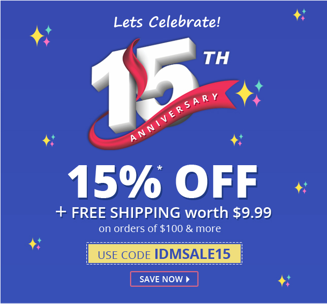 Apply Coupon IDMSALE15 and get 15% off on all medication