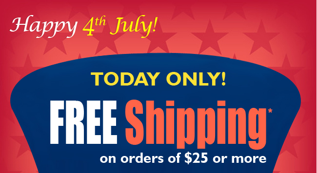 Get Free Shipping Today