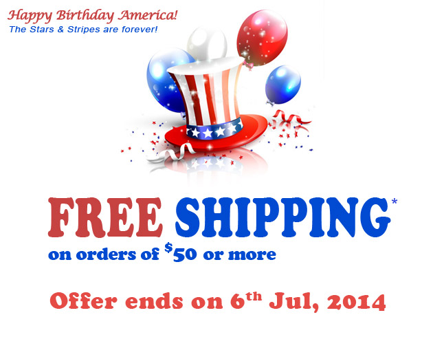Free Shipping for 3 Days