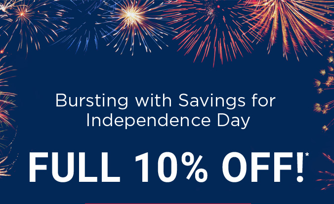 Apply Coupon 4THJULY IDMRX and get 10% off
