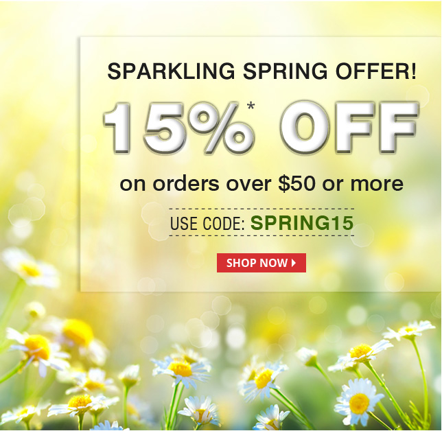 Apply Coupon SPRING15 and get 15% off on All medications