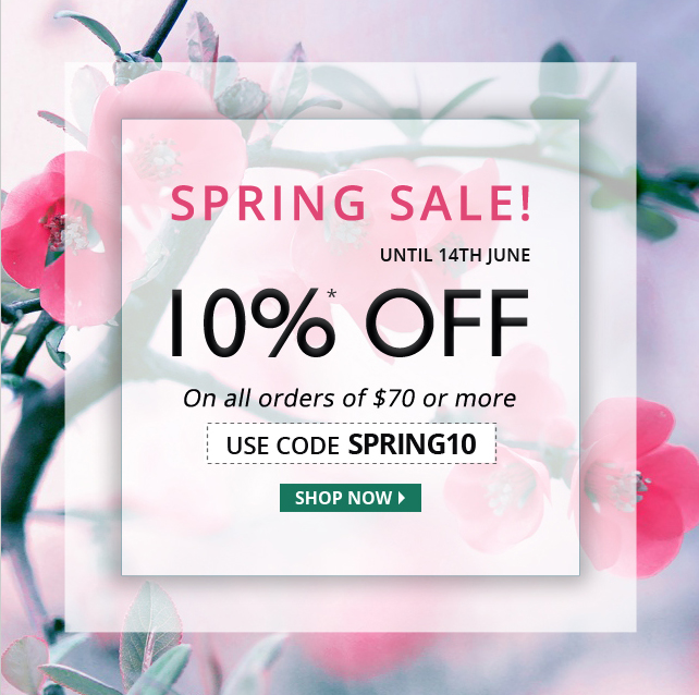 Apply Coupon 'SPRING10' and get 10% off on all Medications