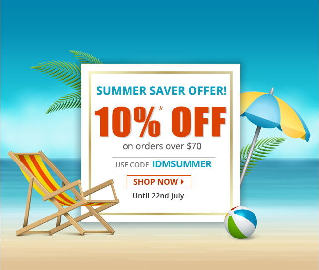Apply Coupon IDMSUMMER and get 10% off on all Drugs