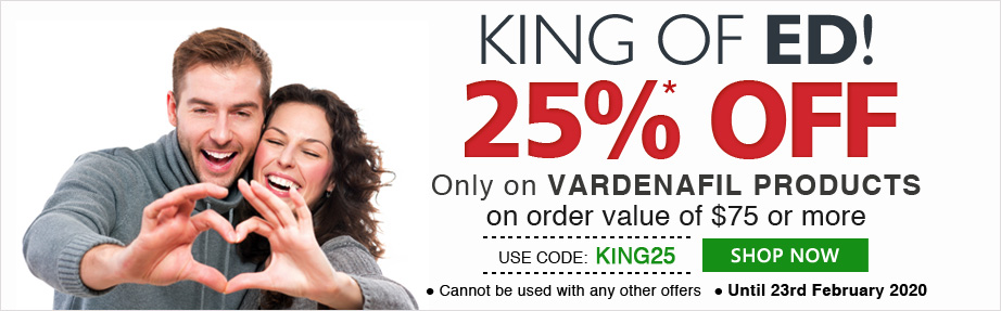 Use Coupon Code 'KING25' 25% OFF on orders of $75 & above